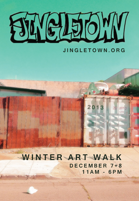 Jingletown Winter art walk 2013